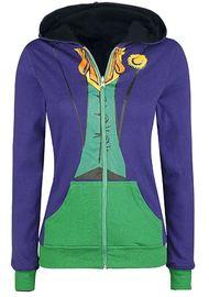 DC Comics: Harley Quinn/Joker Reversible Hoodie (XL) image