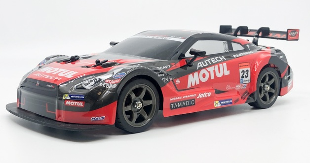 Rusco: 1:18 Scale Super GT Race Car - Nissan (Red)