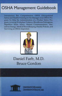 OSHA Management Guidebook by Daniel Farb image