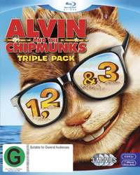 Alvin and the Chipmunks Triple Pack on Blu-ray