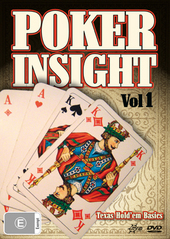 Poker Insight - Vol. 1: Hold 'em Basics on DVD
