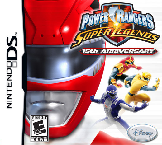 Power Rangers: Super Legends for Nintendo DS