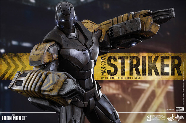 "Marvel: Iron Man (Striker Suit) - 12"" Articulated Figure"