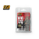 AK WW1 German Uniform Colours Paint Set