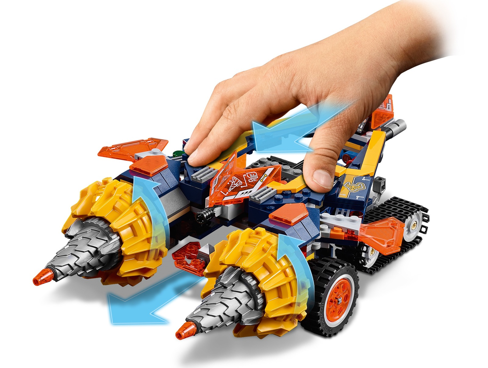 LEGO Nexo Knights - Axl's Rumble Maker (70354) image