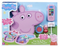 Peppa Pig: Pick Up & Play Case - Playground