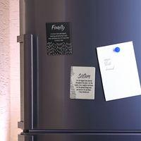 Splosh Markings Ceramic Magnet - Friends image