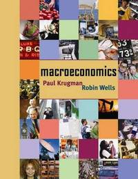 Macroeconomics by Paul R Krugman image