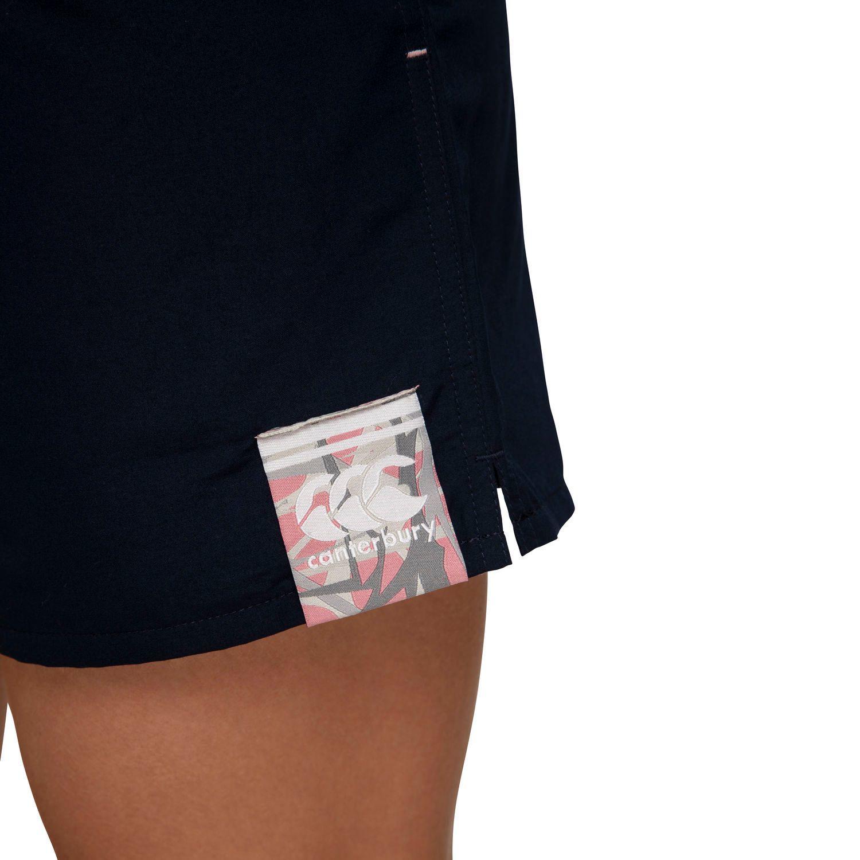 "Canterbury: Womens Camo Logo Tactic Short 5.9"" - Navy (Size 10) image"