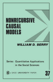 Nonrecursive Causal Models by William D. Berry image