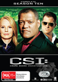 CSI - Las Vegas: Complete Season 10 on DVD