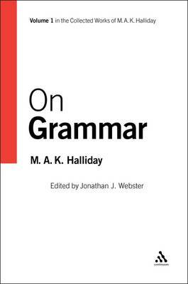 On Grammar by M.A.K. Halliday image