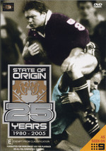 NRL - State Of Origin: 25 Years - 1980-2005 on DVD