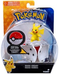 Pokémon: Pikachu & Poke Ball - Throw 'n' Pop Set