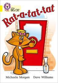 Rat-a-tat-tat by Michaela Morgan image