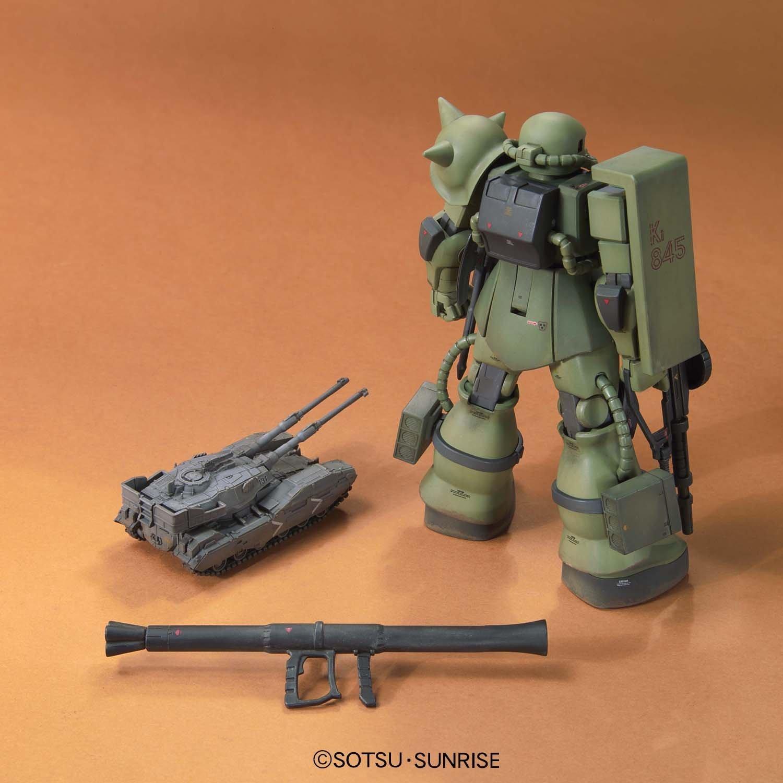 HGUC 1/144 MS-06 Zaku The Ground War Set - Model Kit image