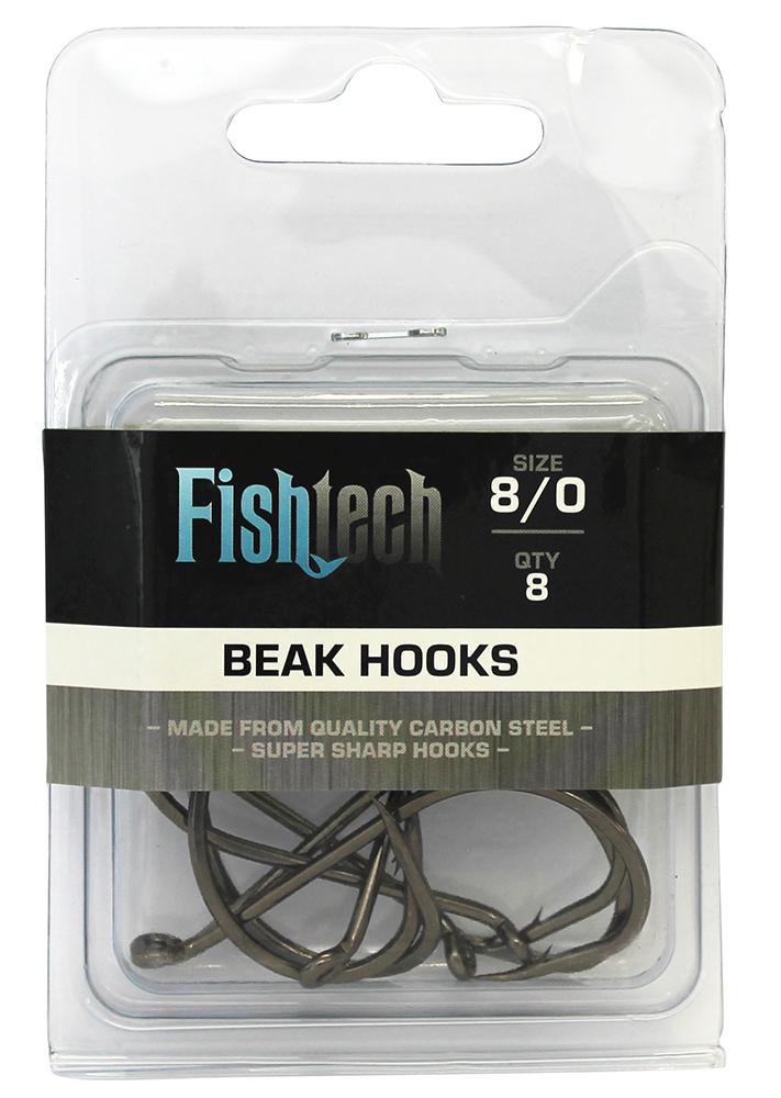 Fishtech Beak Hooks 8/0 (8 per pack) image