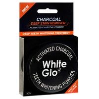 White Glo - Activated Charcoal Teeth Whitening Powder (30g) image