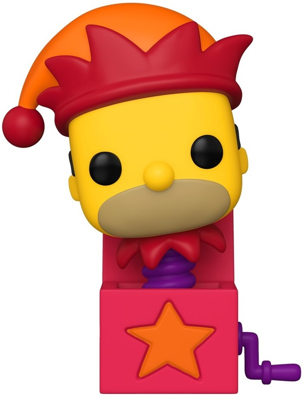 The Simpsons: Homer (Jack-in-the-Box) - Pop! Vinyl Figure