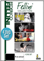 Fellini Collection, The - Vol. 1 (4 Disc Set) on DVD