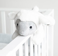 Zazu: LIZ the Lamb Plush Comforter with Heartbeat