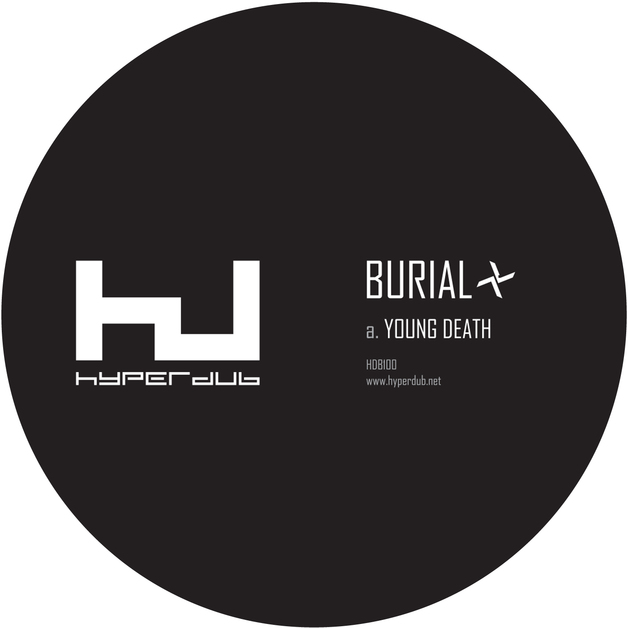 "Young Death / Nightmarket (12"") by Burial"