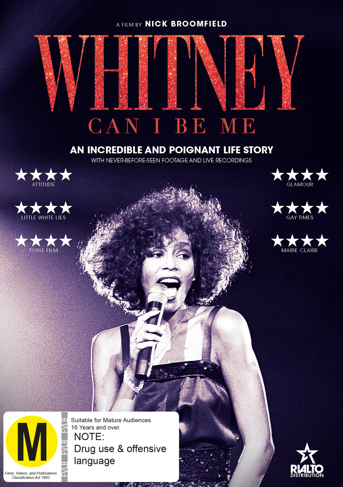 Whitney: Can I Be Me on DVD image