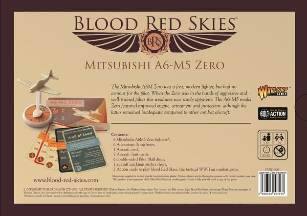 Blood Red Skies: Japanese A6MX 'Zero-Sen' - Squadron