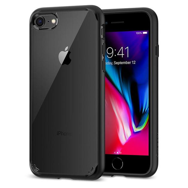 Spigen iPhone 8 /7 Ultra Hybrid 2 Case Black