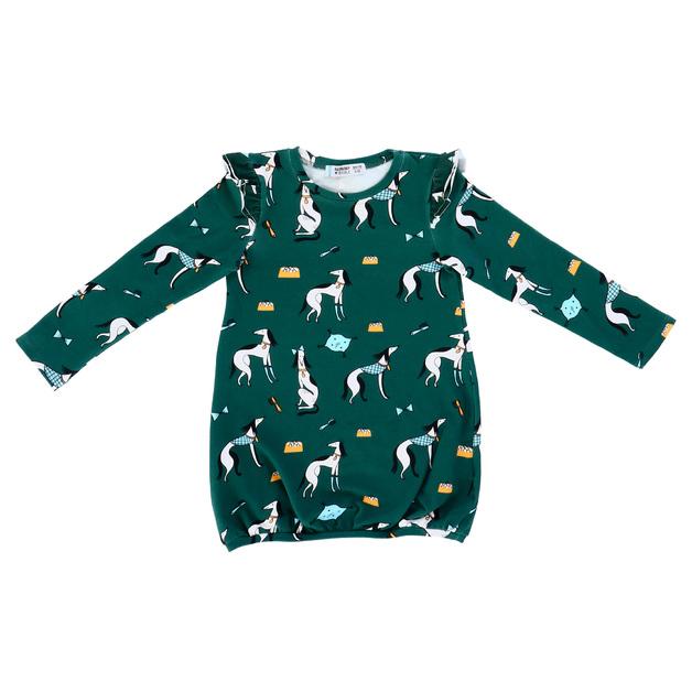 Raspberry Republic: Dress Aristodogs (Size 7)