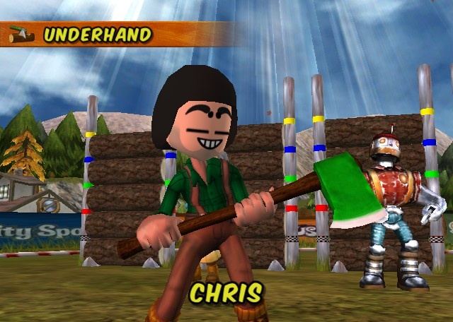 Go Play Lumberjacks for Nintendo Wii image