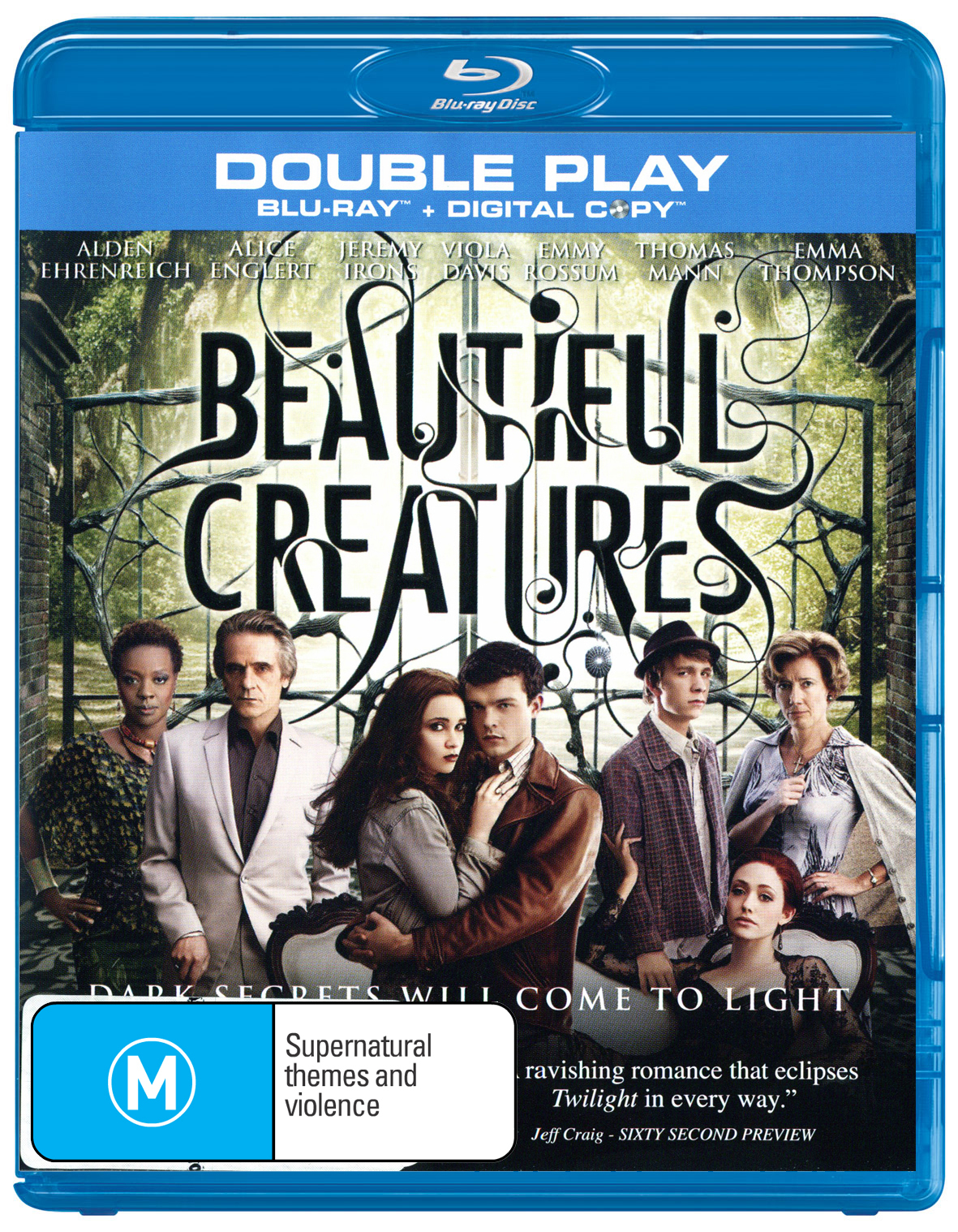 Beautiful Creatures on Blu-ray, DC image