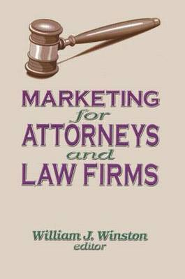 Marketing for Attorneys and Law Firms by William Winston image