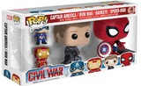 Captain America: Civil War - Pop! Vinyl 4-Pack