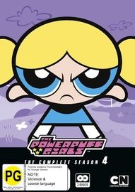 Powerpuff Girls Classic - The Complete Season 4 on DVD