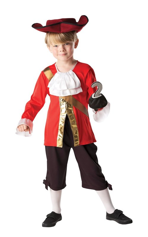 Disney: Captain Hook Kids Costume - (Small)