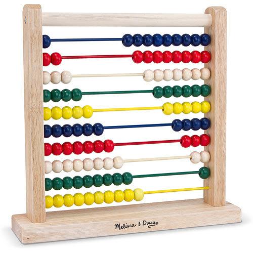Melissa & Doug: Classic Wooden Abacus