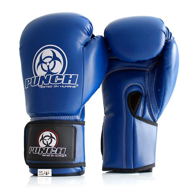 Punch: Urban Boxing Gloves - 10.oz (Blue)