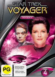 Star Trek: Voyager - Season 4 (New Packaging) on DVD image