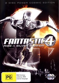 Fantastic 4 - Rise Of The Silver Surfer (2 Disc Set) on DVD image