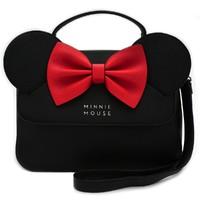 Loungefly: Disney Minnie Mouse - Black Bow Crossbody Bag