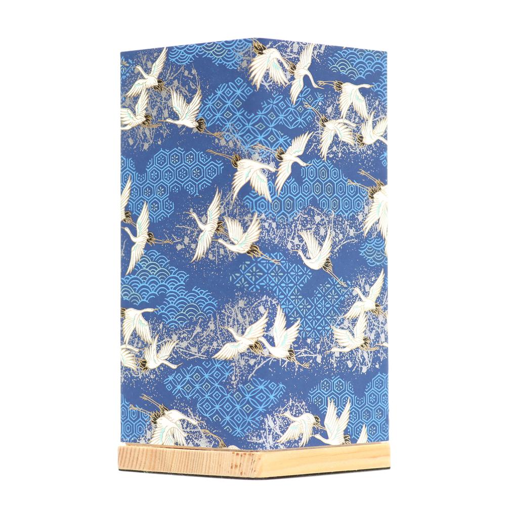 Kami Lamp Sky of Cranes (Blue) image