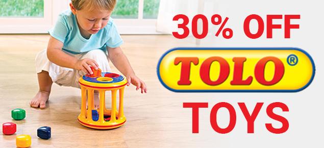30% off Tolo!