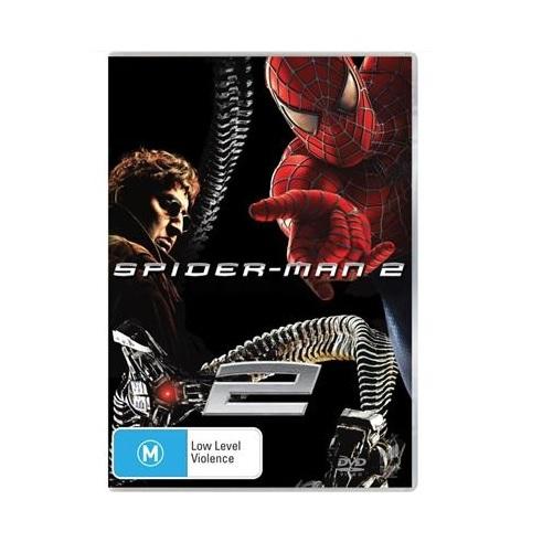 Spiderman 2 on DVD