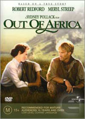 Out Of Africa on DVD