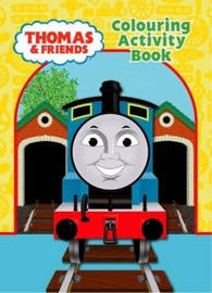 Thomas and Friends: Colouring Activity Book by . Thomas image