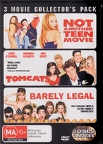 Not Another Teen Movie / Tomcats / Barely Legal - 3 Movie Collector's Pack (3 Disc Set)  on DVD