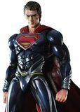 Superman Man of Steel Play Arts Kai Superman Action Figure