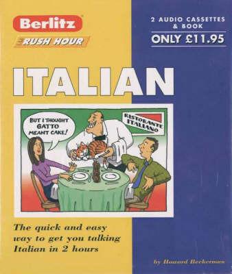 Italian Berlitz Rush Hour - Cassette Version
