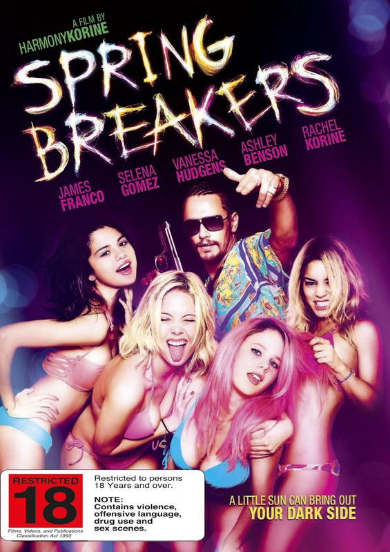 Spring Breakers on DVD